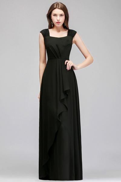 MAGDALEN | A-line Floor Length Sleeveless Ruffled Chiffon Bridesmaid Dresses_7