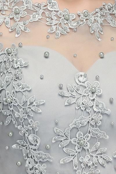 Fabulous Jewel Chiffon A-line Prom Dress_11