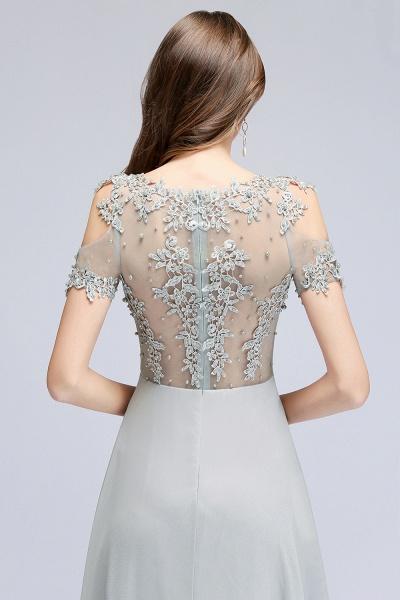 Fabulous Jewel Chiffon A-line Prom Dress_9