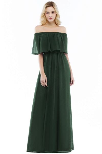 Chic Bateau Chiffon A-line Evening Dress_4