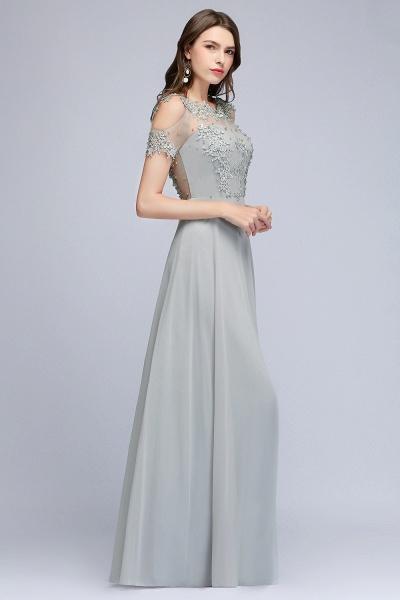 Fabulous Jewel Chiffon A-line Prom Dress_8