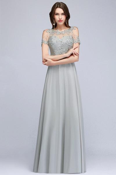 Fabulous Jewel Chiffon A-line Prom Dress_7