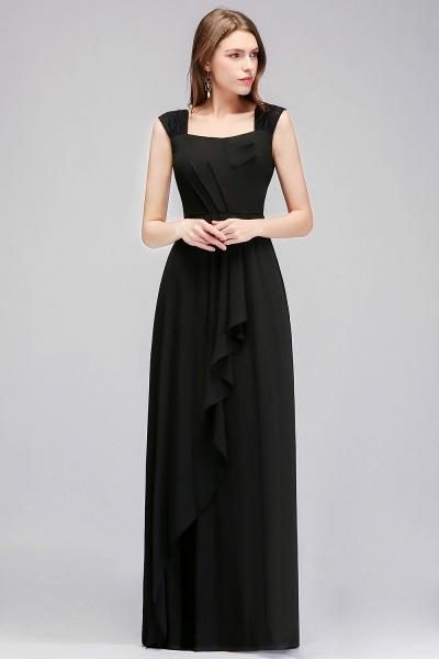 MAGDALEN | A-line Floor Length Sleeveless Ruffled Chiffon Bridesmaid Dresses_5
