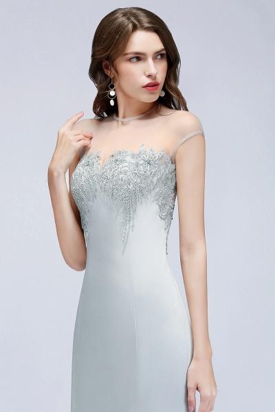 Best Jewel Stretch Satin Mermaid Evening Dress_6