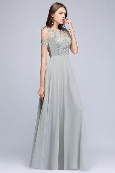 Fabulous Jewel Chiffon A-line Prom Dress_4