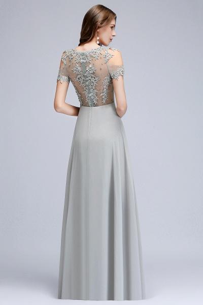 Fabulous Jewel Chiffon A-line Prom Dress_6