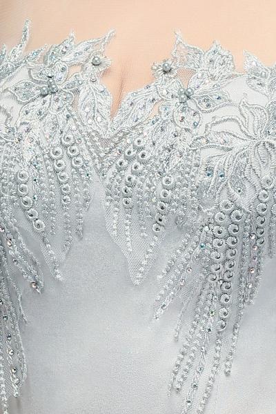 Best Jewel Stretch Satin Mermaid Evening Dress_8