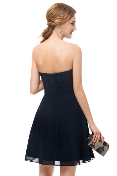 Fascinating Sweetheart Chiffon A-line Homecoming Dress_7