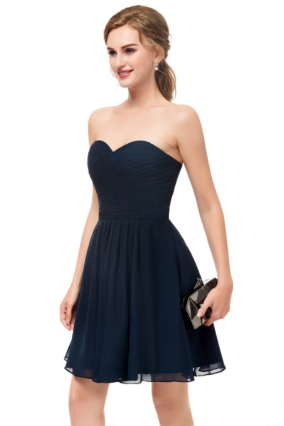 Fascinating Sweetheart Chiffon A-line Homecoming Dress_3