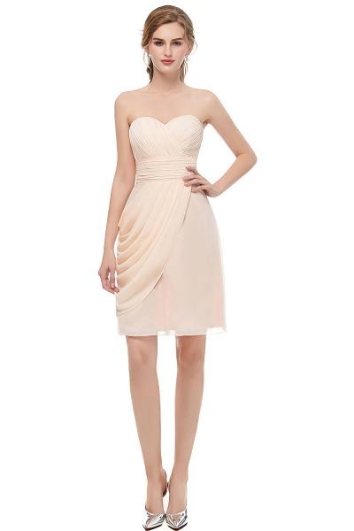 Sleek Sweetheart Chiffon Column Prom Dress_1