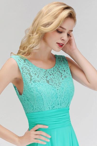 A-line Lace Top Floor Length Sleeveless Chiffon Bridesmaid Dress_10