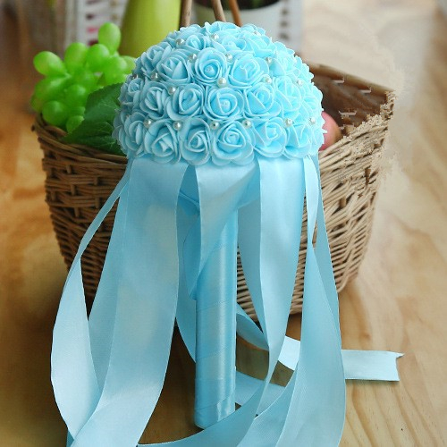Multiple Colors Beading Bouquet for Wedding_9