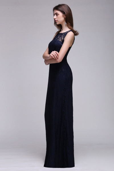 Elegant A-Line Lace Scoop Sleeveless Hollow-Back Floor-Length Bridesmaid Dress_3