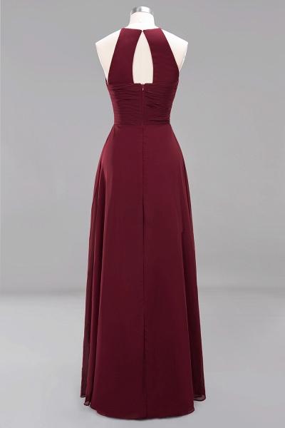 A-Line Chiffon Halter Ruffles Floor-Length Bridesmaid Dress_42