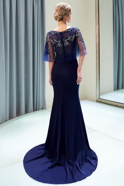 Attractive Jewel Stretch Satin Mermaid Prom Dress_6