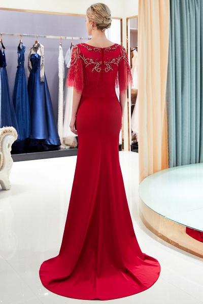 Attractive Jewel Stretch Satin Mermaid Prom Dress_1