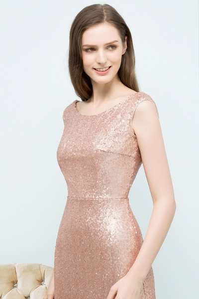 A-line Sequined Scoop Sleeveless Floor-Length Bridesmaid Dress_4