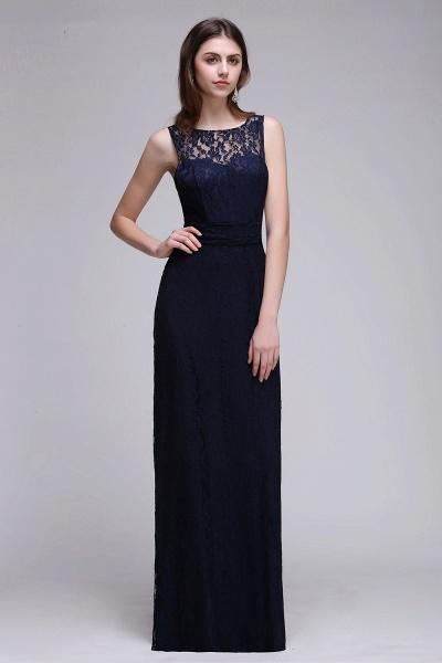 Elegant A-Line Lace Scoop Sleeveless Hollow-Back Floor-Length Bridesmaid Dress_1