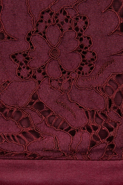 A-line Chiffon Lace Jewel Sleeveless Ruffles Floor-length Bridesmaid Dress_14