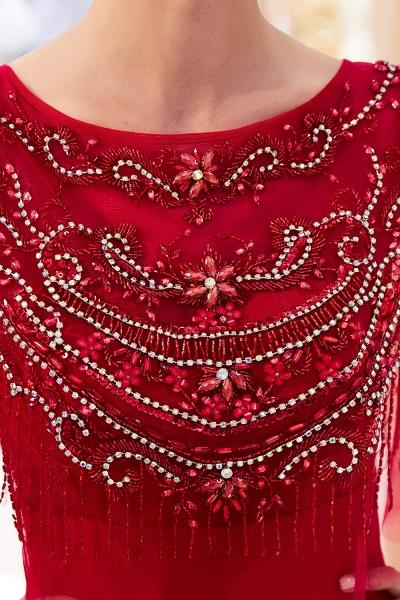 Attractive Jewel Stretch Satin Mermaid Prom Dress_18