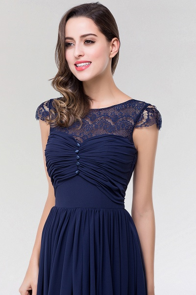 Elegant A-Line Chiffon Lace Scoop Sleeveless Ruffles Floor-Length Bridesmaid Dress with beadworks_6