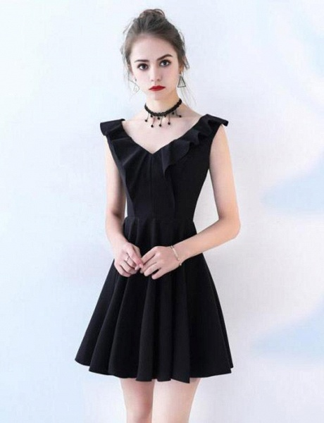 Fascinating Straps A-line Homecoming Dress_1