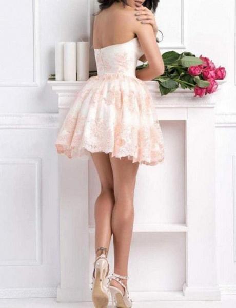 Fabulous Sweetheart Appliques A-line Cocktail Dress_4