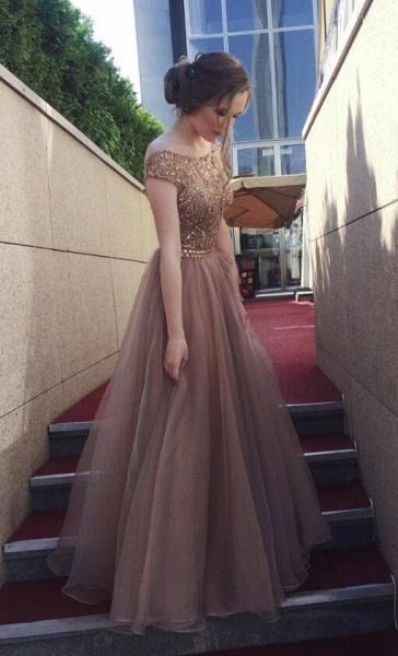 Elegant Tulle A-line Prom Dress_2