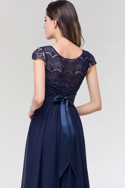 Elegant A-Line Chiffon Lace Scoop Sleeveless Ruffles Floor-Length Bridesmaid Dress with beadworks_7