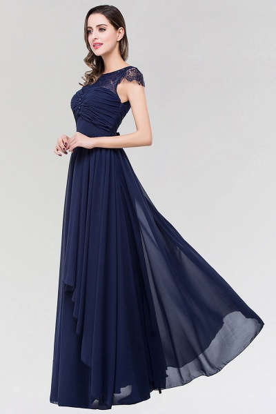 Elegant A-Line Chiffon Lace Scoop Sleeveless Ruffles Floor-Length Bridesmaid Dress with beadworks_4