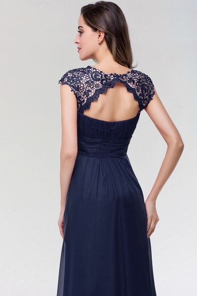 A-line Chiffon Lace Jewel Sleeveless Floor-length Bridesmaid Dresses_5