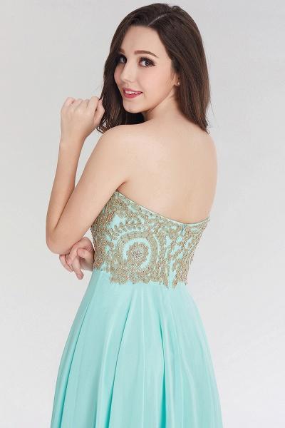A-line Chiffon Strapless Sweetheart Sleeveless Floor-Length Bridesmaid Dress with Beadings_6