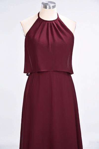 A-Line Chiffon Jewel Sleeveless Floor-Length Bridesmaid Dress_38