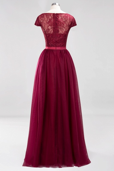 A-Line Chiffon Jewel Sleeveless Floor-Length Bridesmaid Dresses with Ruffles_10