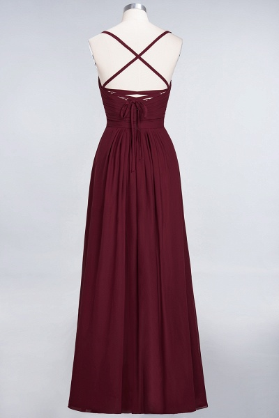 A-Line Chiffon Spaghetti-Straps Sweetheart Sleeveless Floor-Length Bridesmaid Dress with Ruffles_44