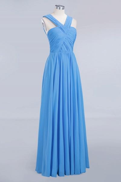 BM0048 A-Line Chiffon Straps Sleeveless Ruffles Floor Length Bridesmaid Dresses_9