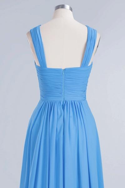 BM0048 A-Line Chiffon Straps Sleeveless Ruffles Floor Length Bridesmaid Dresses_11