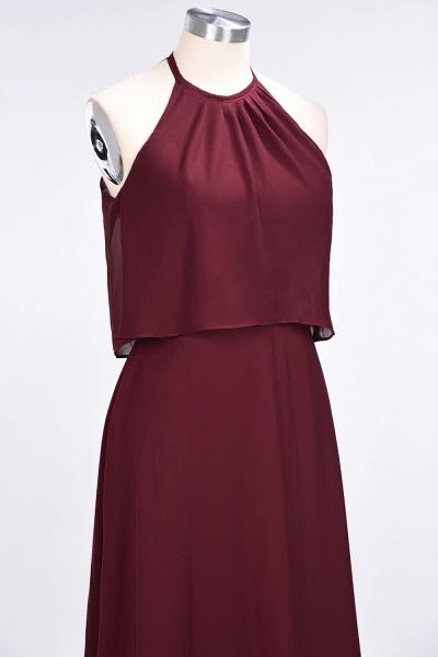 A-Line Chiffon Jewel Sleeveless Floor-Length Bridesmaid Dress_39
