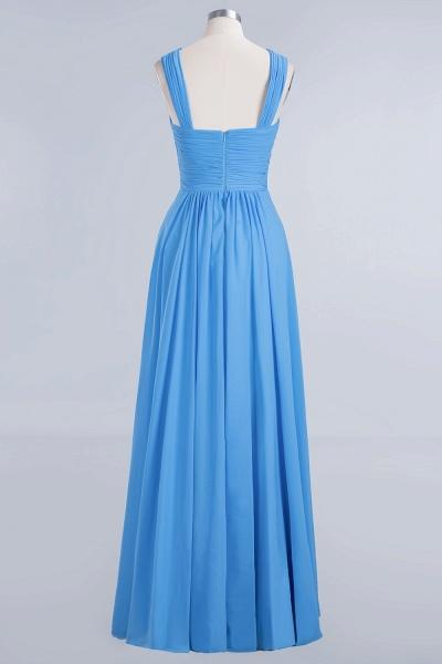 BM0048 A-Line Chiffon Straps Sleeveless Ruffles Floor Length Bridesmaid Dresses_8