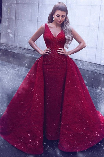 Wonderful Straps Lace Ball Gown Prom Dress_1