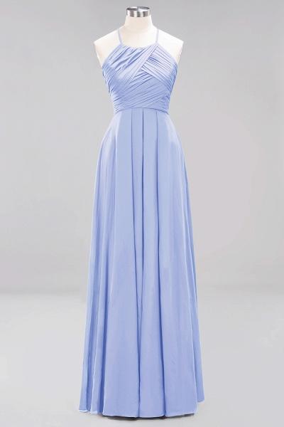 A-Line Chiffon Halter Ruffles Floor-Length Bridesmaid Dress_21