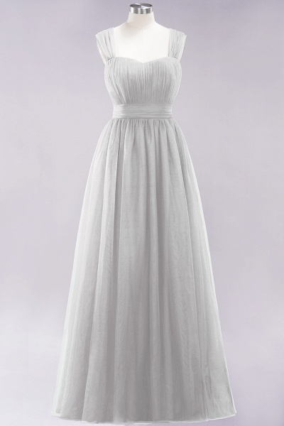 A-Line Chiffon Sweetheart Straps Sleeves Floor-Length Bridesmaid Dresses with Ruffles_29