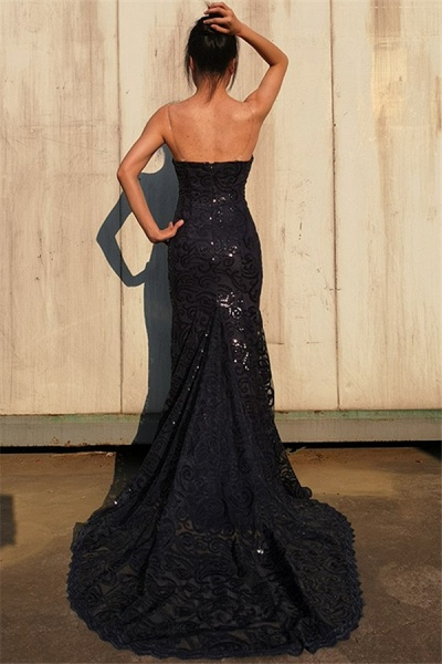 Exquisite Sweetheart Tulle Mermaid Prom Dress_2
