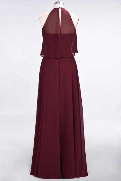A-Line Chiffon Jewel Sleeveless Floor-Length Bridesmaid Dress_36