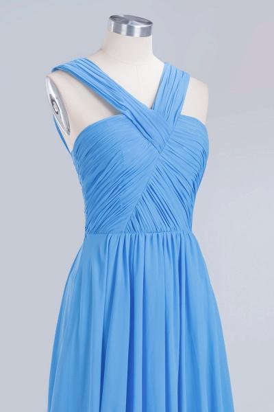 BM0048 A-Line Chiffon Straps Sleeveless Ruffles Floor Length Bridesmaid Dresses_12