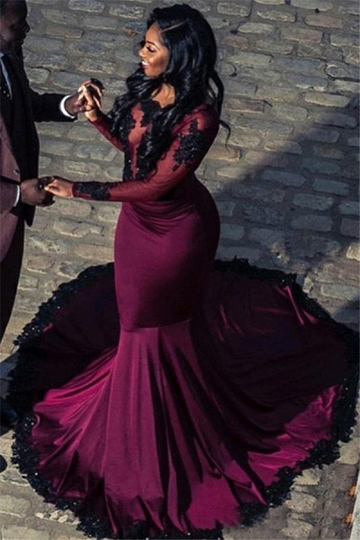 Precious Scoop Tulle Mermaid Prom Dress_1