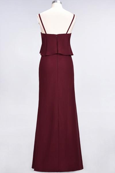 A-Line Chiffon Spaghetti-Straps V-Neck Sleeveless Floor-Length Bridesmaid Dress_42