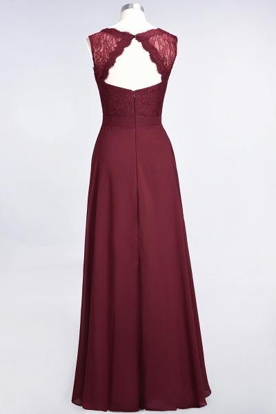 A-Line Chiffon Lace V-Neck Sleeveless Floor-Length Bridesmaid Dress_44