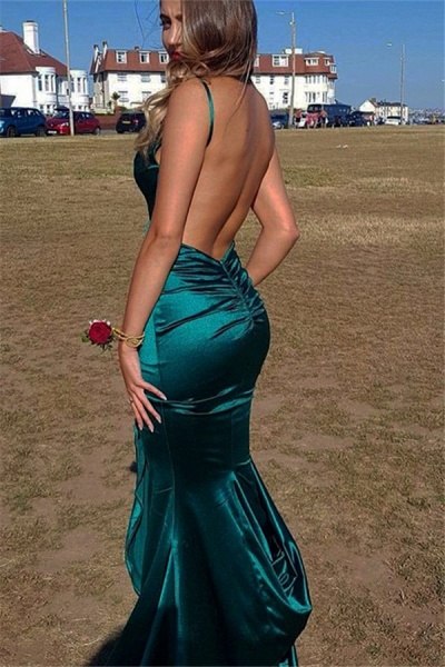 Excellent V-neck Mermaid Prom Dress_3