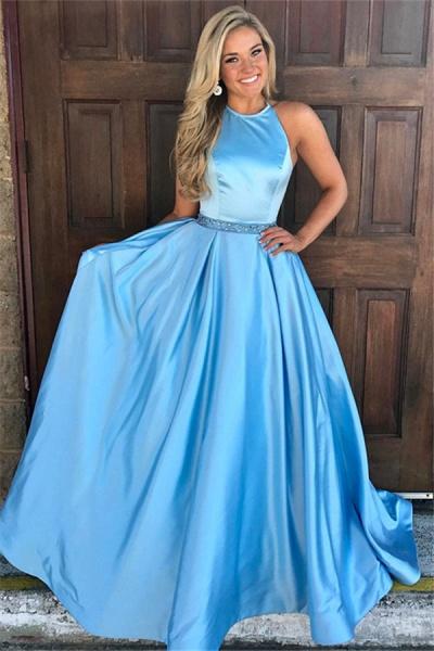 Graceful Jewel Lace A-line Prom Dress_1